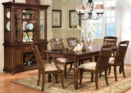 Solid Wood Dining Room Table Fancy Distressed Wood Dining Table Set On Home Design Ideas With