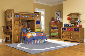 kids room alluring bed ideas showing brown wooden bunk blue excerpt cool boy be modern bunk bed deluxe 10th