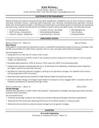 examples of resumes sample retail store manager resume sample retail store manager resume assistant store manager in 85 astonishing examples of resumes