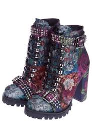 Ботильоны <b>JEFFREY CAMPBELL</b> арт LILITH-2 PURPLE MULTI ...