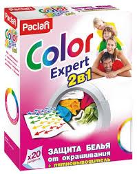 <b>Paclan салфетки Color Expert</b> 2 в 1 — купить по выгодной цене на ...