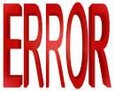 Images & Illustrations of error