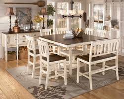 Dining Room Set Counter Height Unique Counter Height Dining Set White For Home Design Ideas With
