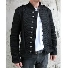 Parade <b>Jacket</b> Tunic <b>Rock</b> Black Braiding New Gothic Army   Мода и ...