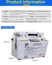 AK <b>Vacuum OCA Laminating Machine</b> for Samsung S6 and S7 Edge ...