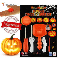 <b>TOFOCO</b> Funny Halloween Pumpkin Carving Tool Toys For Kids ...