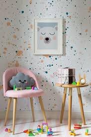 zones bedroom wallpaper: on the lookout for playful wallpaper designs this speckle wallpaper design combines bright colours with