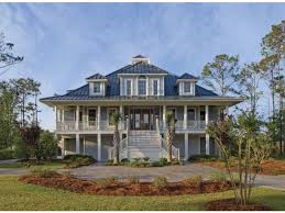 Plantation House Plan   Square Feet and Bedrooms from    Front