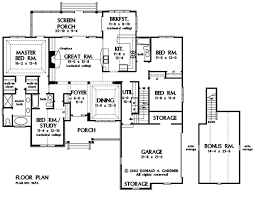 Home Plan The Satchwell by Donald A  Gardner Architectsbasement stair
