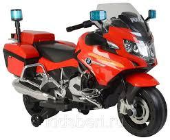 Детский <b>мотобайк BARTY BMW</b> R1200RT-P Police Motоbaike ...