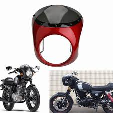<b>7inch motorcycle</b> retro cafe racer <b>handlebar</b> fairing windshield ...