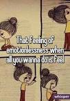emotionlessness