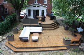 yard deck patio