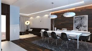 black and white dining table set: modern dining sets in black and white theme with side dining chair made of white