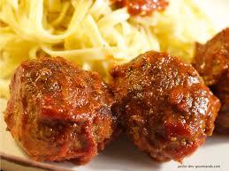 """Résultat de recherche d'images pour """"boulette sauce tomate"""""""