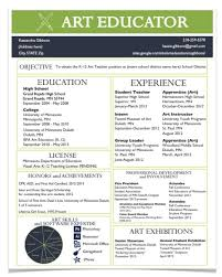 resume education examples for summary with highlights and    resume examples for art teacher resume for the modern art teacher the art of ed   resume templates for teachers