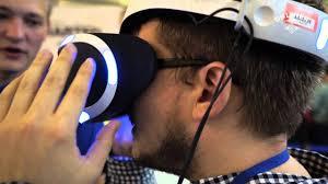 <b>Шлем виртуальной реальности</b> от <b>Sony</b> для PS4: первый взгляд ...
