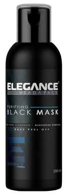 Elegance <b>Маска пленка</b> черная очищающая <b>Black</b> Peel-Off Facial ...