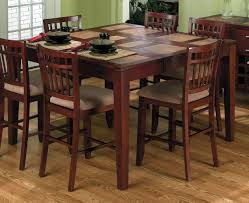 dining table that seats 10: square wood table and  seats simple square dining table with  to