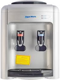 <b>Кулер для воды Aqua</b> Work 0.7TD (серебристый) эл. охл., нажим ...