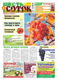 Шесть соток в Сибири. Октябрь 2015, №10 (174) by 6sotok Sib ...