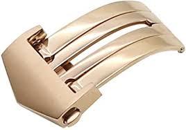 <b>ZLIMSN Watch</b> Buckle Stainless Steel Deployment Clasp <b>Folding</b> ...
