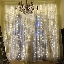 String Lights Curtain Lights Opard Bedroom Window Lights ...