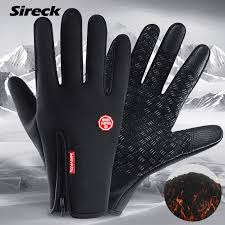 <b>ROCKBROS Cycling</b> Winter Gloves Waterproof Windproof Fleece ...