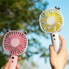 4 Colors <b>Mini</b> Fan <b>Portable</b> Air Conditioner <b>USB Cooler</b> Adjustable ...