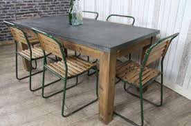 images zinc table top: zinc top dining table elegant home design planning with zinc top dining table zinc topped dining