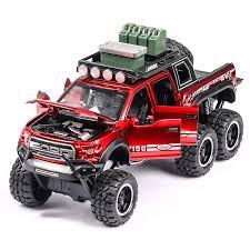 Online Shop 1:32 Diecast F150 Raptor Pickup <b>Alloy</b> Truck <b>Car</b> ...