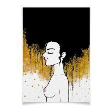 """Плакат A3(29.7x42) """"Golden"""""""