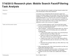 snagajob eric atkinson experience design lead mobile search filter test plan