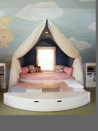 amazing fairy bedroom with cute pink bed for kids amazing kids bedroom