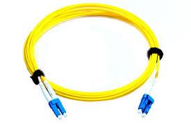 3C3 Yellow <b>LC</b>-<b>LC Single Mode Fiber Patch Cord</b> For LAN System ...