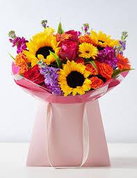 Bright <b>Summer Flower</b> Gift Bag | M&S
