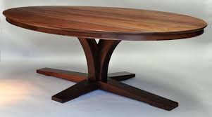 walnut cherry dining: dorset custom furniture oval walnut dining table dorset custom furniture