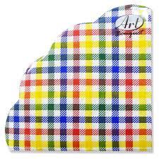 <b>Салфетки бумажные ART BOUQUET</b> RONDO Цветная скатерть 3 ...