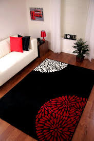 red kitchen rugs small