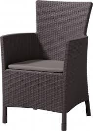<b>Кресло</b> пластиковое мягкое <b>Keter Iowa</b>, цвет коричневый - купить ...
