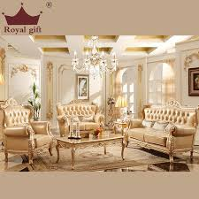 the new champagne wood sofa combination of high quality leather sofa living room furniture alibaba furniture