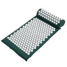 <b>Massager Cushion Acupressure</b> Mat <b>Pillow</b> Set Stress Pain <b>Relieve</b> ...
