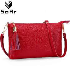 New Fashion <b>Genuine Leather Women</b> Messenger Bags For Youth ...