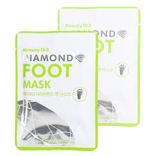 Beauugreen Beauty153 <b>Diamond</b> Foot Mask <b>Маска для ног</b>, 2шт