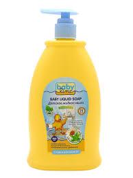 Детское <b>жидкое мыло с</b> дозатором, 500 мл Babyline 10825647 в ...