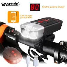 1200 Lumens <b>Bicycle Light</b> Headlight LED <b>Taillight USB</b> ...