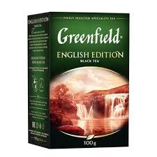 <b>Чай черный GREENFIELD English</b> Edition 100п*2г/Инглиш Эдишн ...