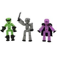 Купить <b>Stikbot</b> TST614R <b>Стикбот</b> 3 фигурки <b>Stikbot Off</b> the Grid ...