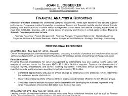 developing resume profile