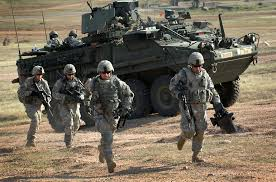 essay indian army   essay topicsu s solrs from the nd squadron  th cavalry regiment exit their stryker combat vehicle and an